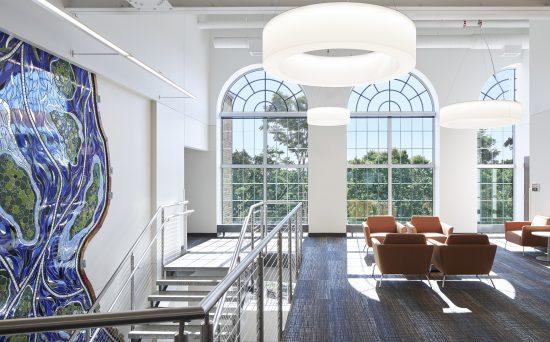Sustainable workspaces SCSU Eastman Hall