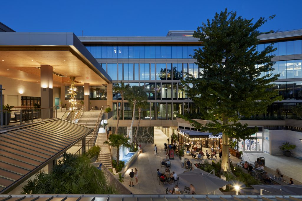 RSP designed the renovation of CocoWalk to include new F&B options and a Class A office building.
